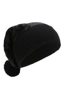 Шерстяная шапка с помпоном Gemma. H