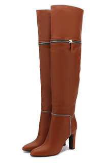 Кожаные ботфорты Joana на устойчивом каблуке Giuseppe Zanotti Design