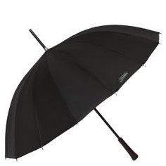 Зонт полуавтомат JEAN PAUL GAULTIER SIMON 16B черный