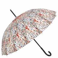 Зонт механический JEAN PAUL GAULTIER 1284 16B красный