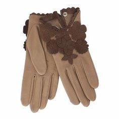 Перчатки AGNELLE RIC_JOSIEFLEUR серо-бежевый