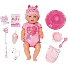 """Интерактивная кукла Zapf Creation """"Baby born"""" Девочка, 43 см"""