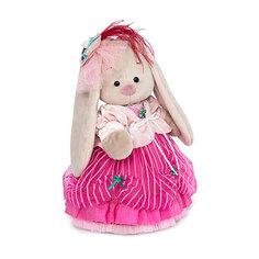 Мягкая игрушка Budi Basa Зайка Ми барышня в карамельно-розовом, 25 см