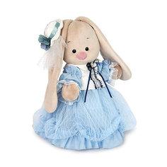 Мягкая игрушка Budi Basa Зайка Ми барышня в нежно-васильковом, 25 см