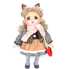 """Мини-кукла Lotus """"Mademoiselle GeGe"""" в коричневом платье, 38 см"""