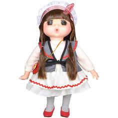 """Мини-кукла Lotus """"Mademoiselle GeGe"""" в белом платье, 38 см"""
