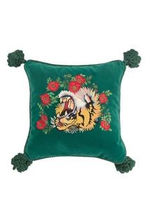 Диванная подушка с головой тигра Gucci