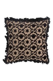 Жаккардовая подушка GG Gucci