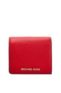 Красный кошелек для монет Money Pieces Michael Michael Kors