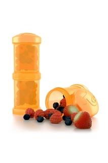 Контейнер оранжевый для сухой смеси Twistshake 2 шт, 100 мл