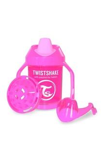 Поильник розовый Twistshake Mini Cup
