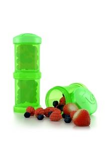 Контейнер зеленый для сухой смеси Twistshake 2 шт, 100 мл