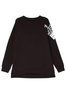 Черный пуловер с логотипом The North Face