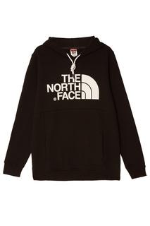 Черное худи с логотипом The North Face
