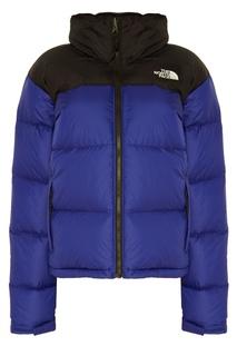 Синий с черным пуховик 1996 Retro Nuptse The North Face