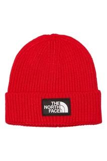 Красная шапка с логотипом The North Face