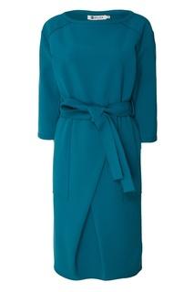Бирюзовое платье с рукавами-реглан Белка