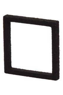 Черное квадратное кольцо One Belki Rings