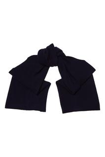 Синий кашемировый шарф Tegin
