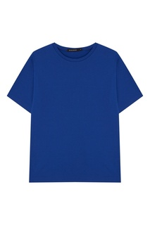Синяя футболка Blank.Moscow