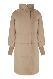 Бежевое пальто «Лора» Novaya