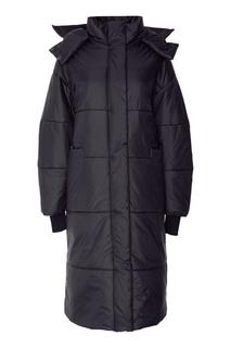 Темно-синее пальто «Ева» Novaya