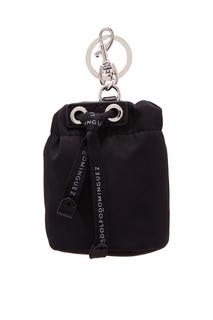Черный брелок в форме сумки Adolfo Dominguez