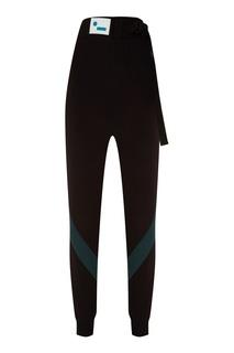 Трикотажные брюки с логотипом