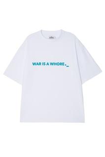 Свободная футболка с надписью