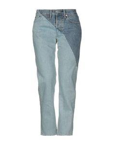 Джинсовые брюки Vetements x Levis