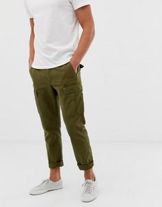 Зеленые прямые брюки-карго J.Crew Mercantile - Зеленый