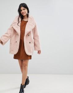 Пальто из плюша Deby Debo - Розовый