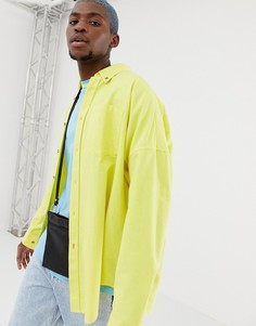 COLLUSION oversized oxford shirt in yellow - Желтый