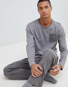 Хлопковая пижама с крапинку Tokyo Laundry - Серый