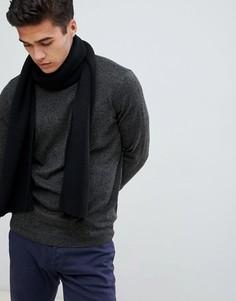 Трикотажный шарф Jack & Jones - Черный