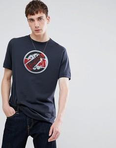 Черная футболка с логотипом Pretty Green - Черный