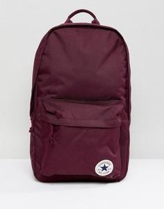 Бордовый рюкзак с нашивкой Converse Chuck Taylor - Красный