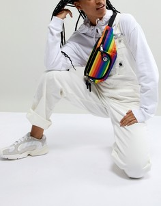 Разноцветная сумка-кошелек на пояс Hype - Мульти