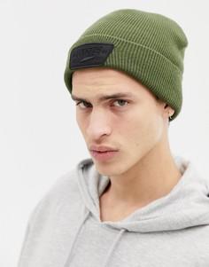 Зеленая шапка-бини Vans Milford VN000UOUKCZ1 - Зеленый