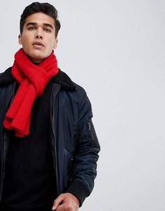 Трикотажный шарф Jack & Jones - Красный
