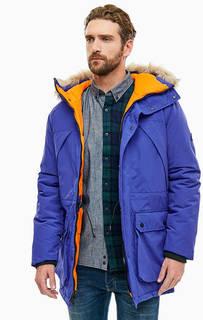 Зимняя куртка синего цвета Kirby Penfield