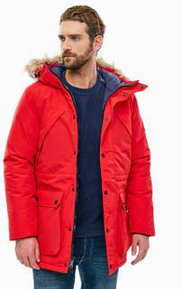 Зимняя куртка красного цвета Kirby Penfield