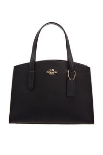 Черная сумка Charlie Carryall Coach