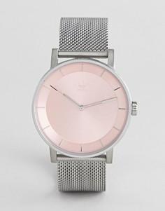 Серебристые часы Adidas Z04 Balance - Серебряный