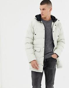 Длинная дутая куртка Tokyo Laundry - Кремовый