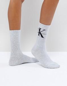 Носки с логотипом Calvin Klein Jeans - Серый