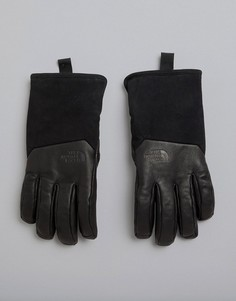 Черные кожаные перчатки The North Face Il Solo - Черный