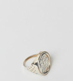 Серебряное кольцо Chained & Able Old English Sovereign - Серебряный