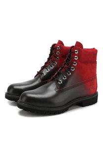 Кожаные ботинки Marcelo Burlon & Timberland Marcelo Burlon