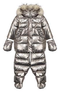Комплект из комбинезона и куртки с варежками Add
